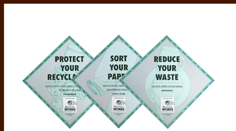 Recycling posters
